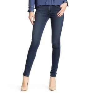 Denim High-Rise Skinny Jeans (NWT)